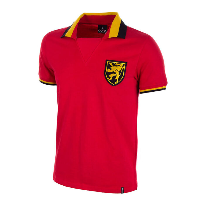 Belgium 1961 Retro Football Shirt