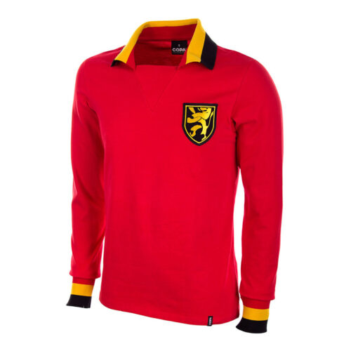 Belgium 1963 Retro Football Shirt