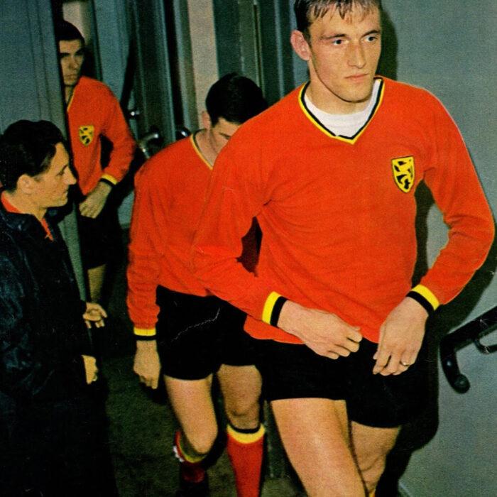 Belgio 1967 Maglia Storica Calcio