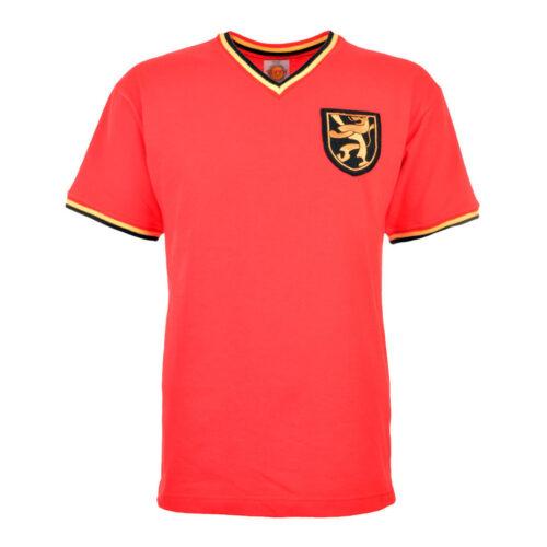 Belgica 1970 Camiseta Retro Fútbol