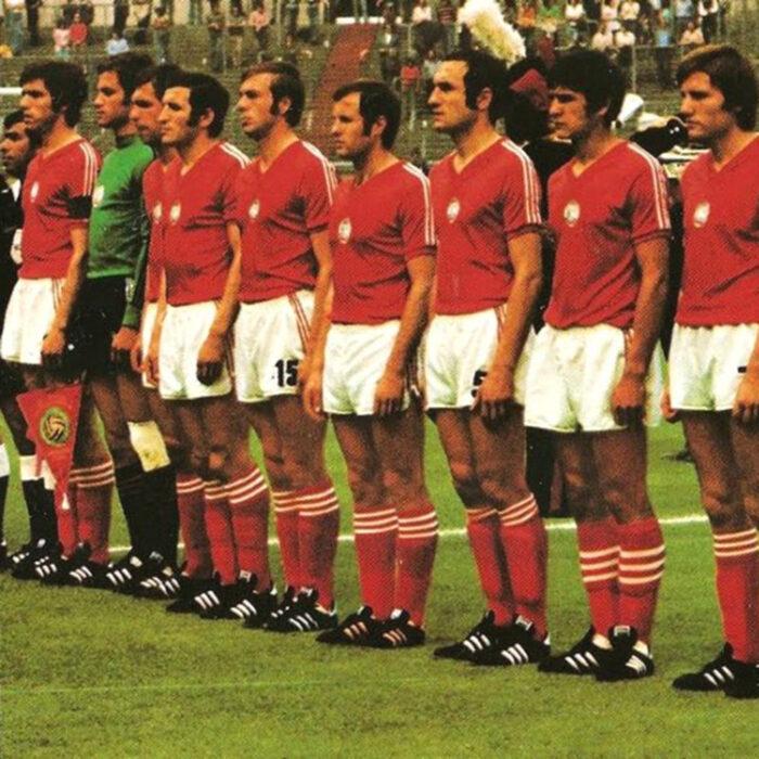 Bulgaria 1974 Maglia Storica Calcio