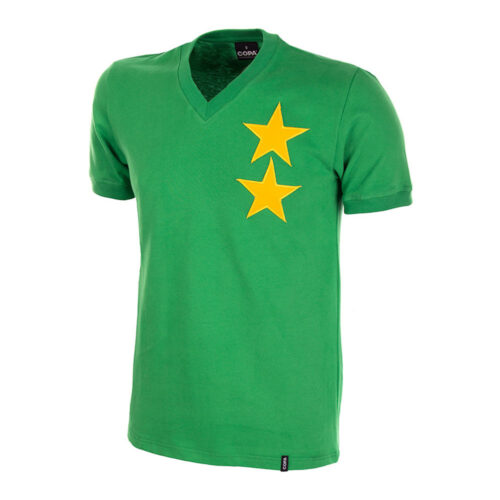 Camerún 1972 Camiseta Retro Fútbol
