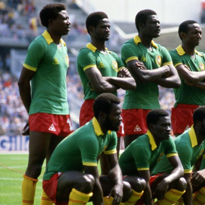 Camerun 1982 Maglia Storica Calcio