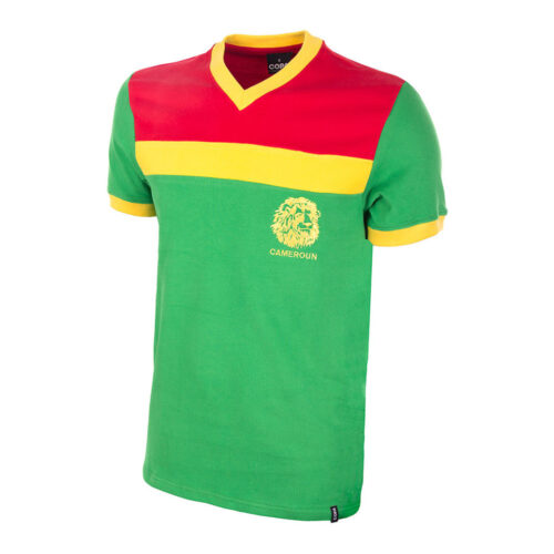 Cameroon 1987 Retro Football Shirt