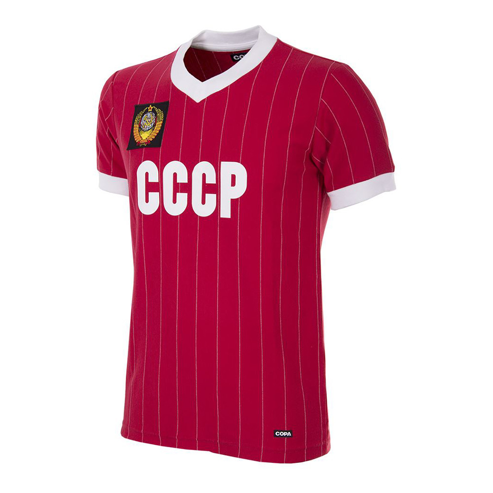 USSR 1982 Retro Football Shirt