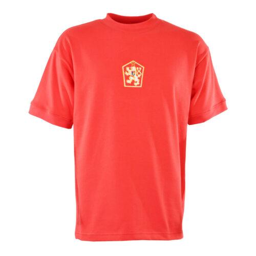 Checoslovaquia 1976 Camiseta Retro Fútbol