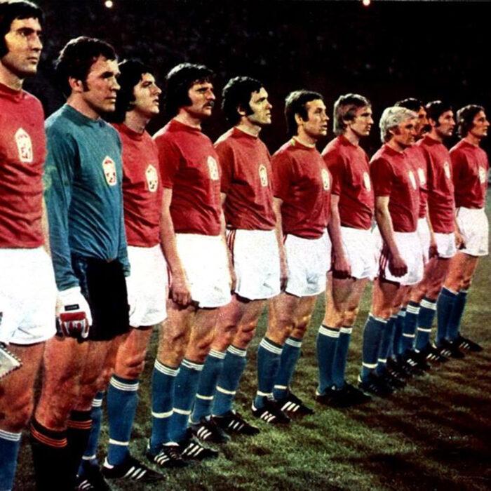Cecoslovacchia 1976 Maglia Storica Calcio