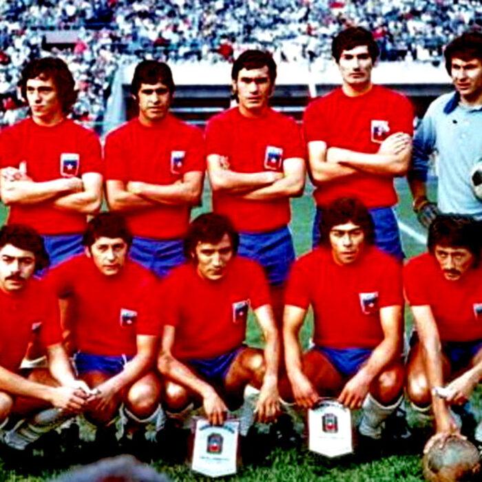 Cile 1973 Maglia Storica Calcio