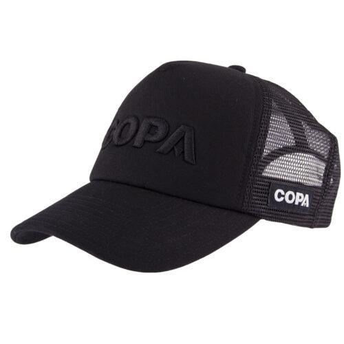 Copa 3D Black Logo Cappellino Trucker