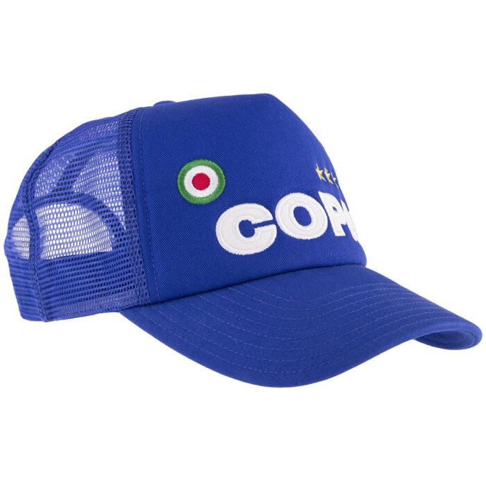 Copa Campioni Cappellino Trucker Azzurro