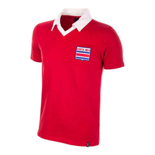 Costa Rica 1990 Retro Football Shirt