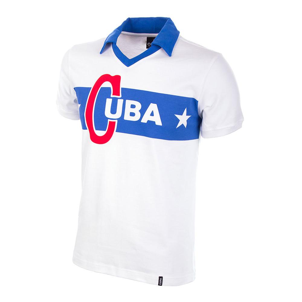 Cuba 1960 Camiseta Retro Fútbol