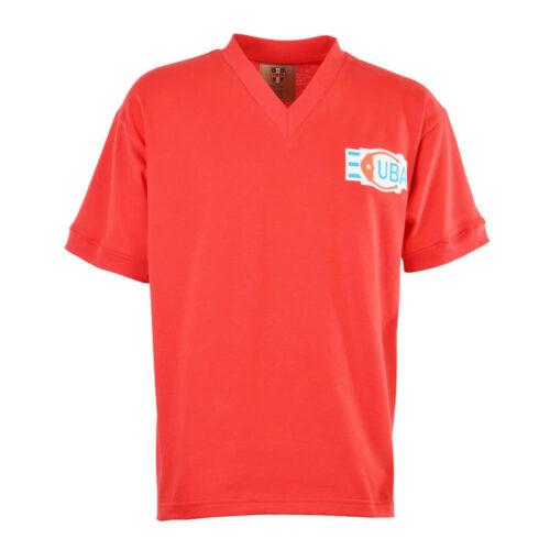 Cuba 1976 Retro Football Shirt