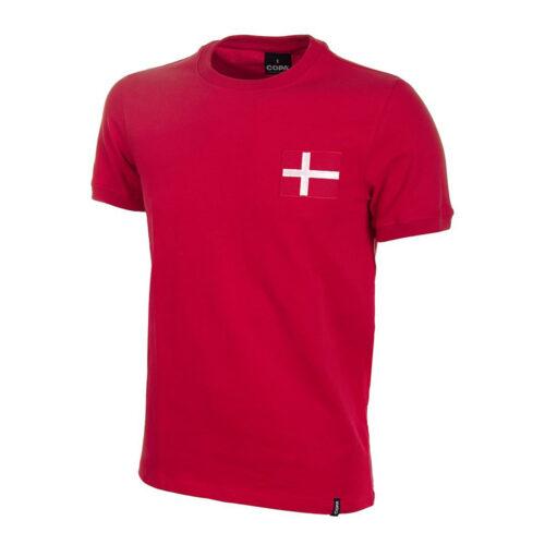Dinamarca 1960 Camiseta Retro Fútbol