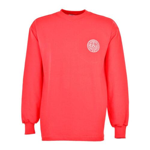 Dinamarca 1972 Camiseta Retro Fútbol