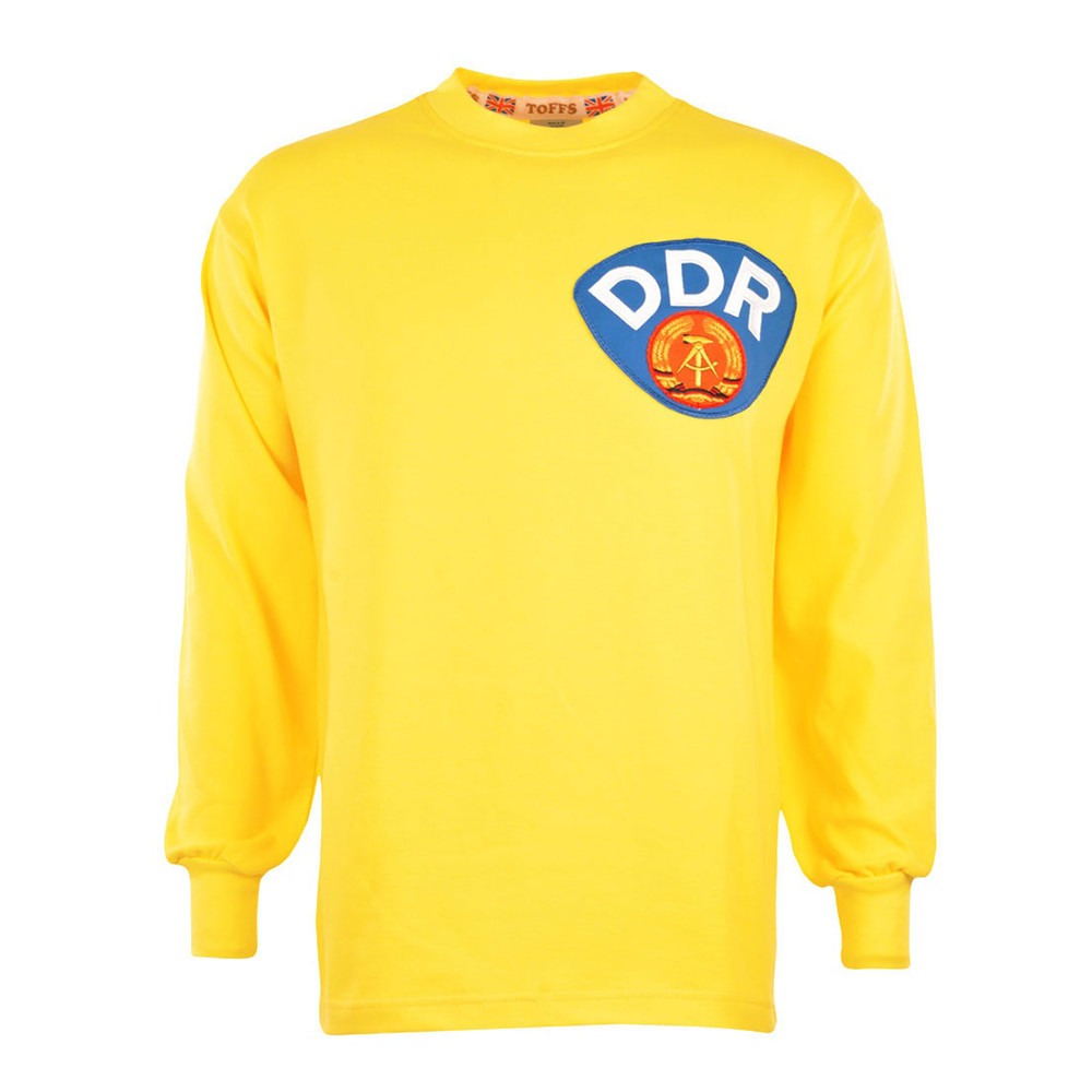 DDR 1974 Retro Goalkeeper Shirt