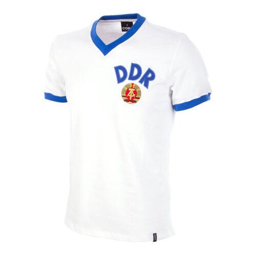 DDR 1976 Camiseta Retro Fútbol