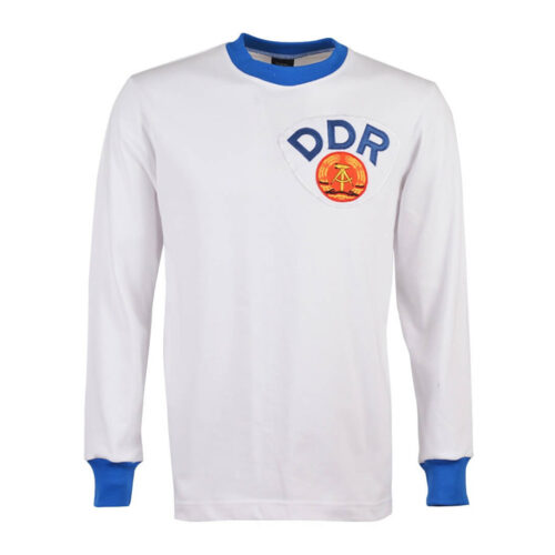 DDR 1977 Camiseta Retro Fútbol