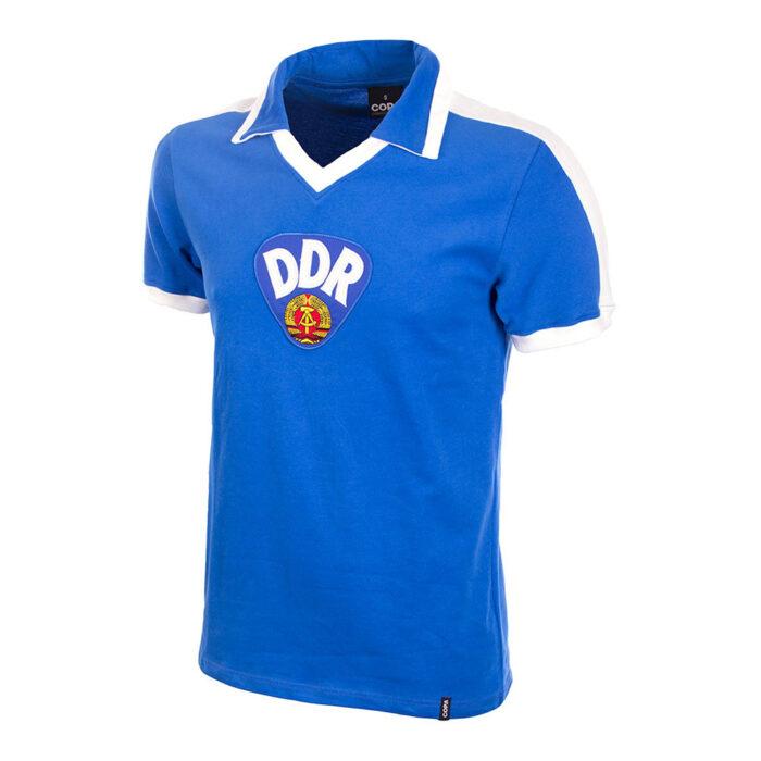 DDR 1986 Camiseta Retro Fútbol