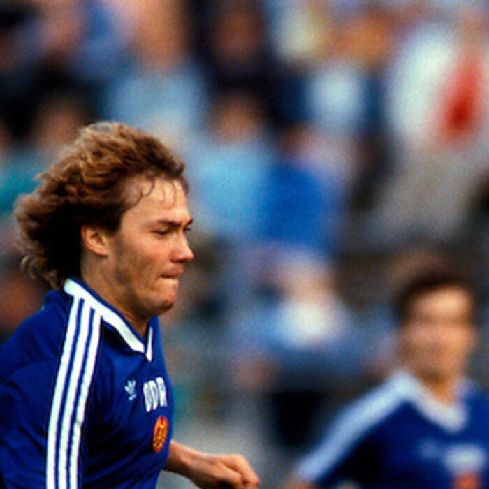 DDR 1986 Maglia Storica Calcio
