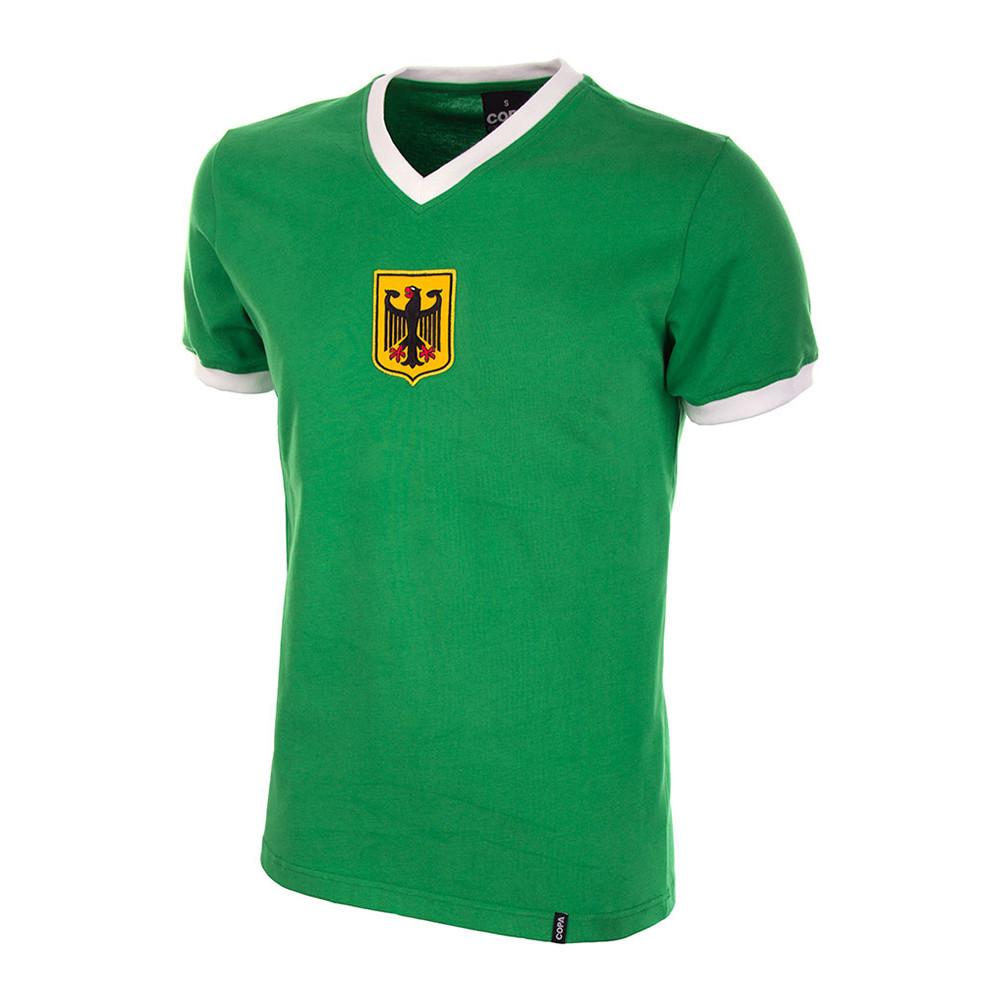 Germania Ovest 1972 Maglia Vintage Calcio