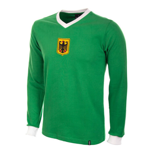 West Germany 1972 Retro Jersey Football