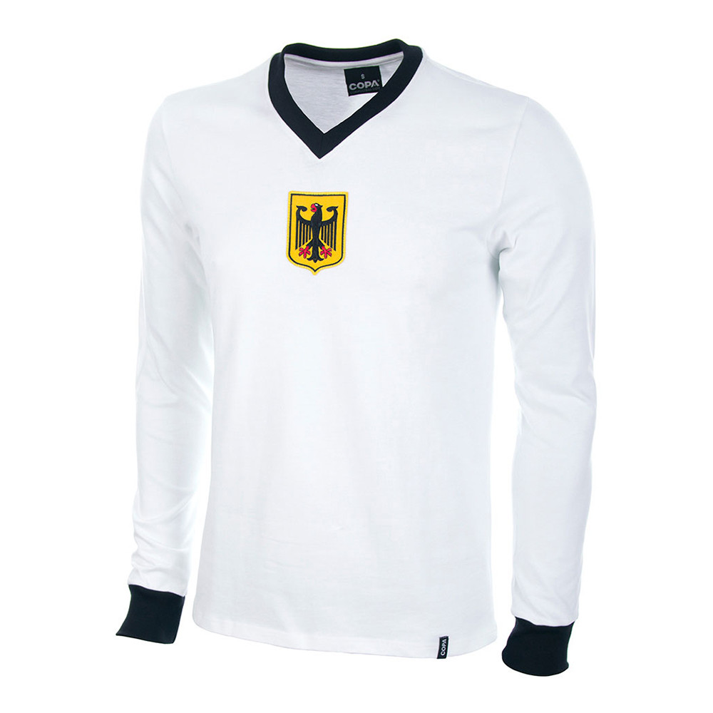 Allemagne de l'Ouest 1972 Maillot Rétro Football