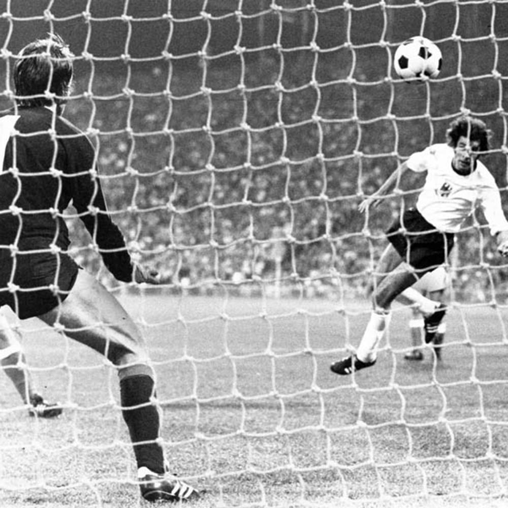 Germania Ovest 1972 Maglia Calcio Storica