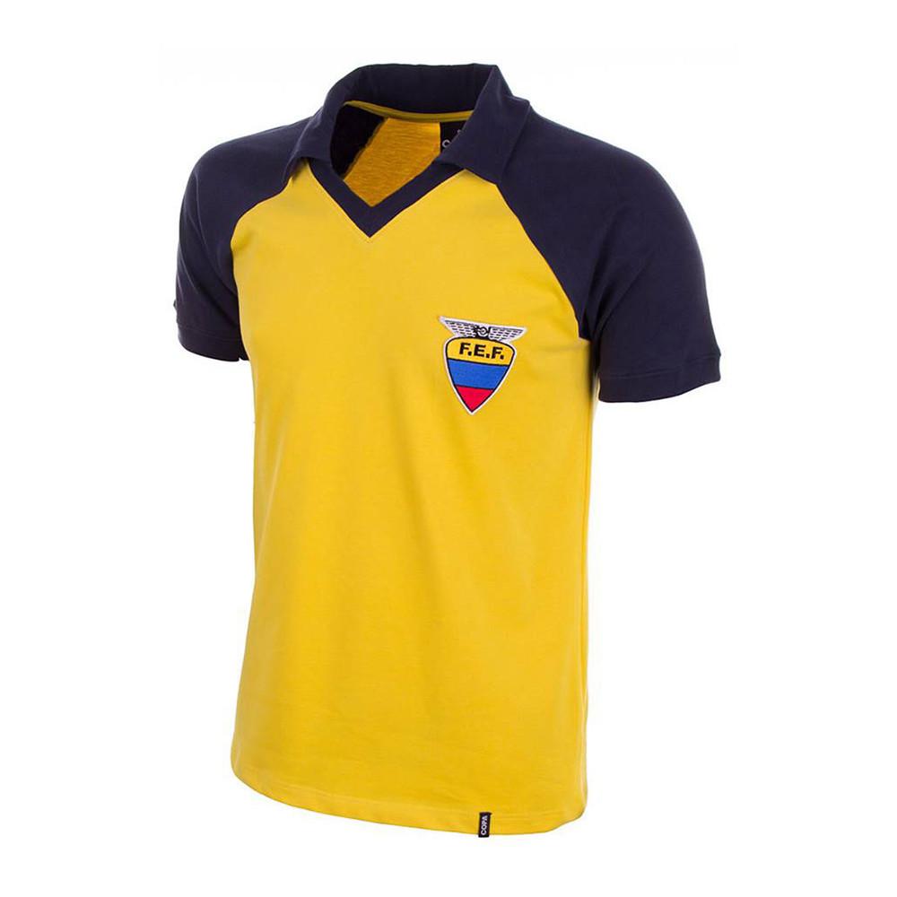 Ecuador 1986 Camiseta Retro Fútbol