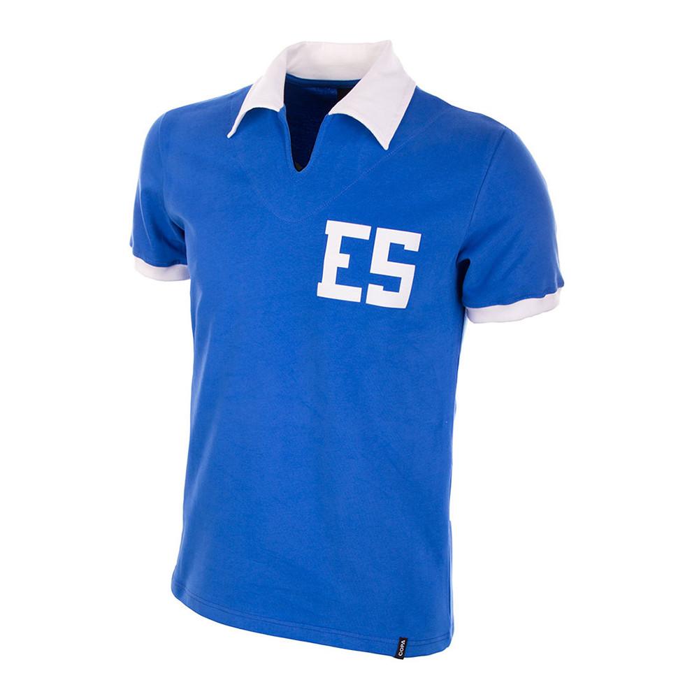 El Salvador 1977 Retro Football Shirt