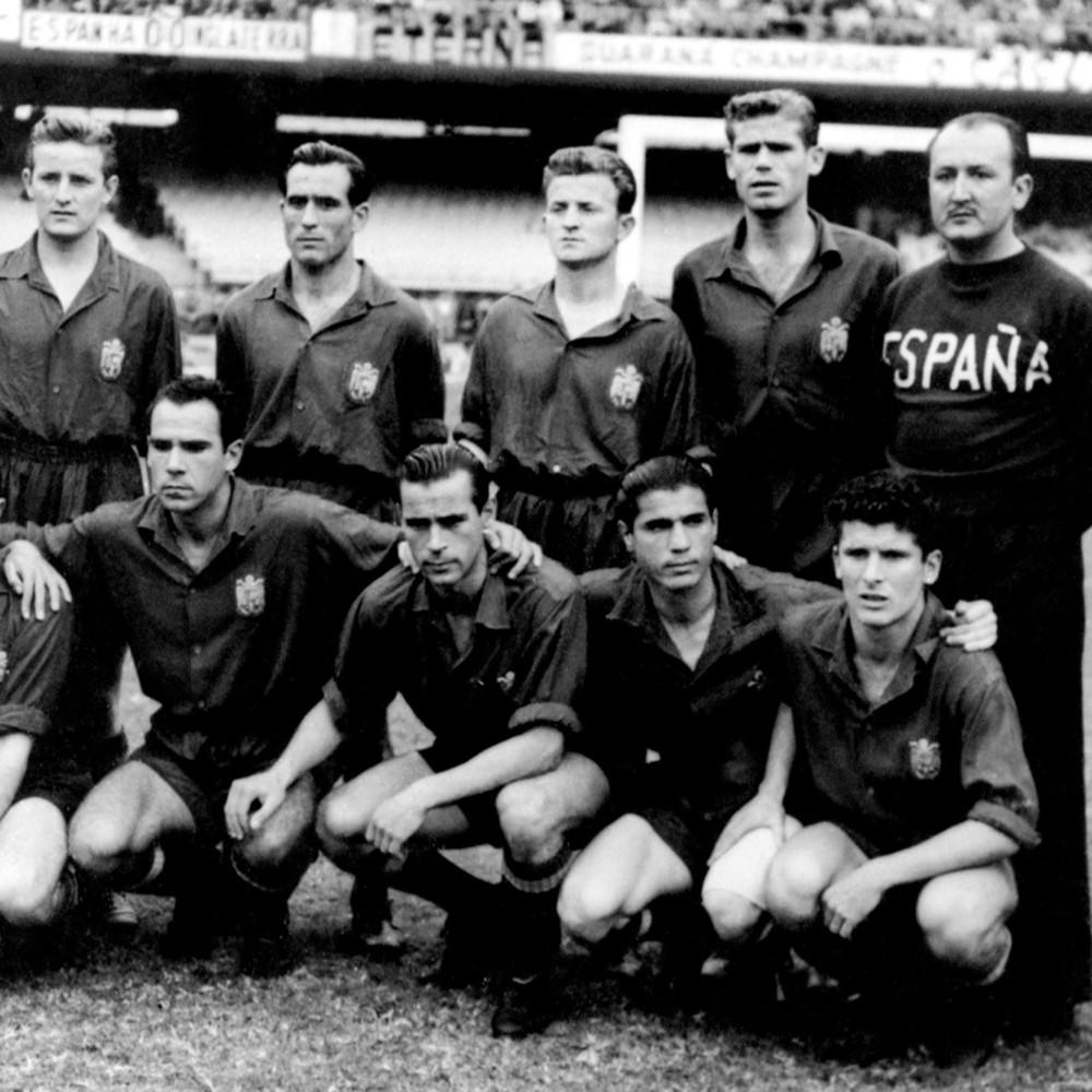 Spagna 1950 Maglia Storica Calcio