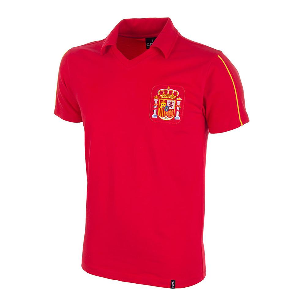 Spain 1986 Retro Football Shirt