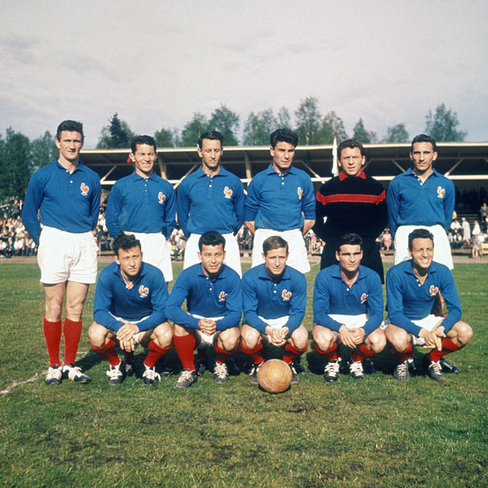 Francia 1958 Maglia Storica Calcio