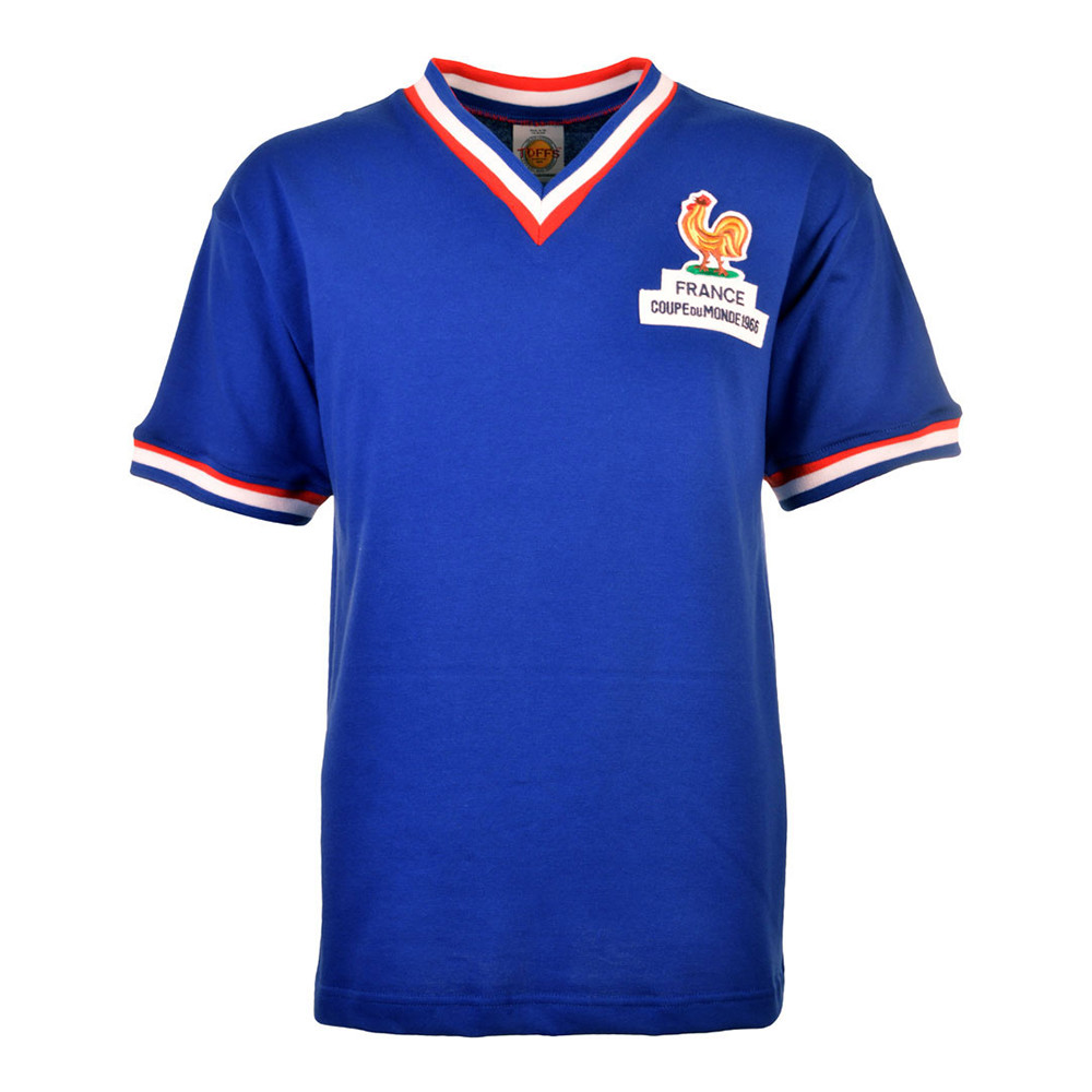 France 1966 Retro Football Shirt