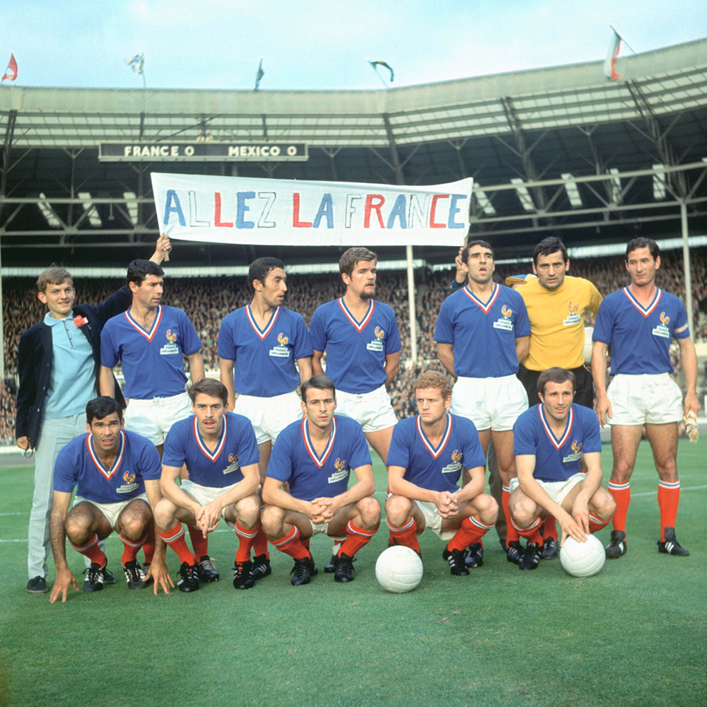 Francia 1966 Maglia Storica Calcio