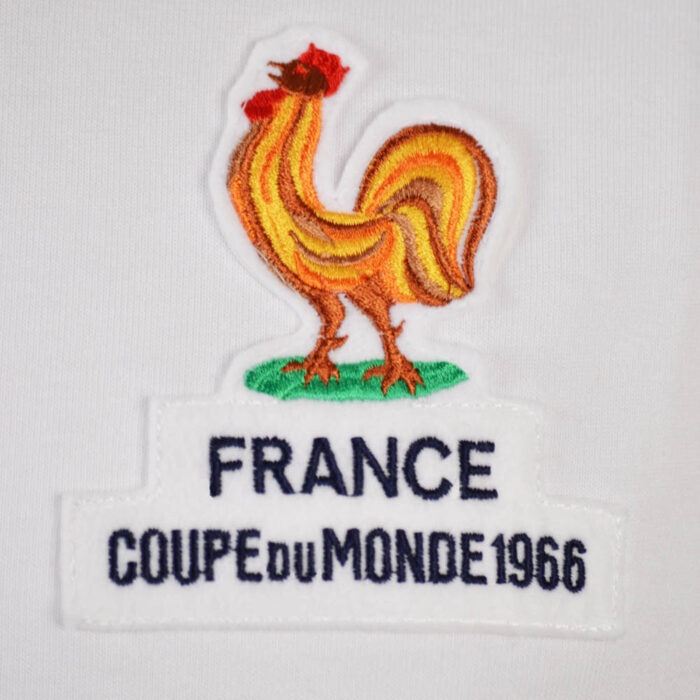 Francia 1966 Away Maglia Storica Calcio