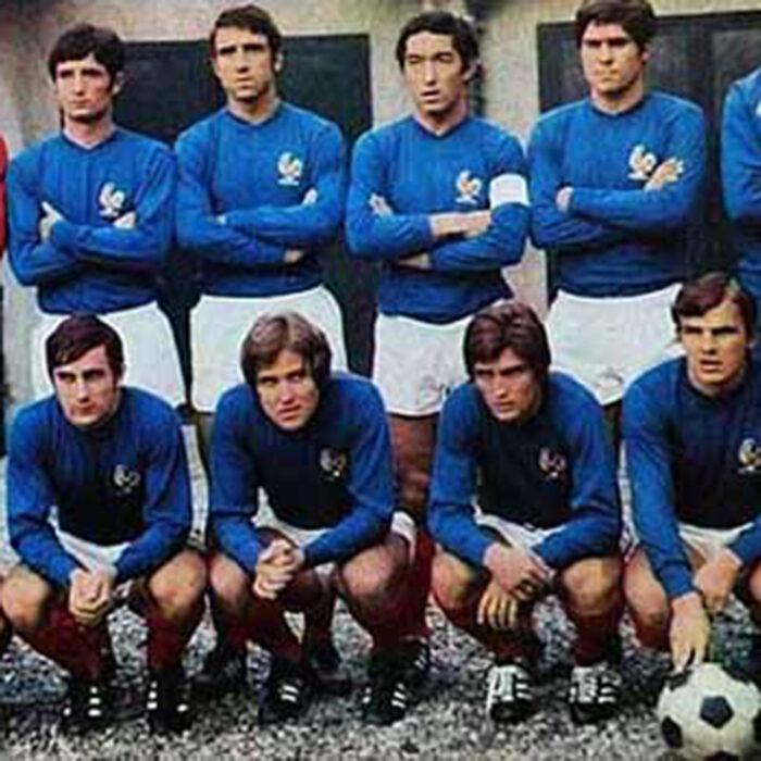 Francia 1969 Maglia Storica Calcio
