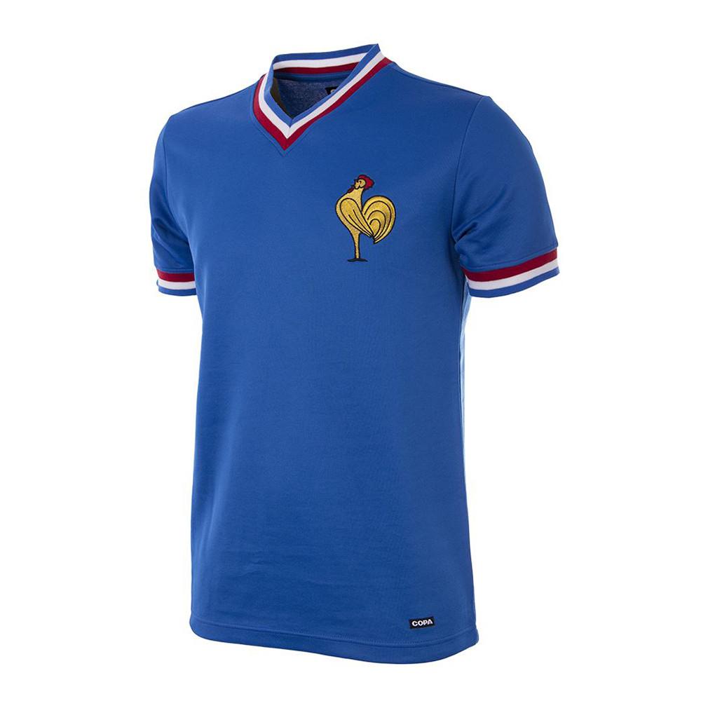 France 1971 Retro Football Shirt