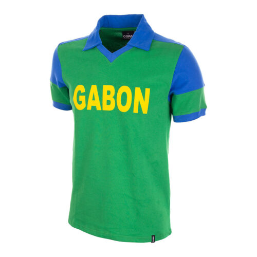 Gabon 1988 Retro Football Shirt