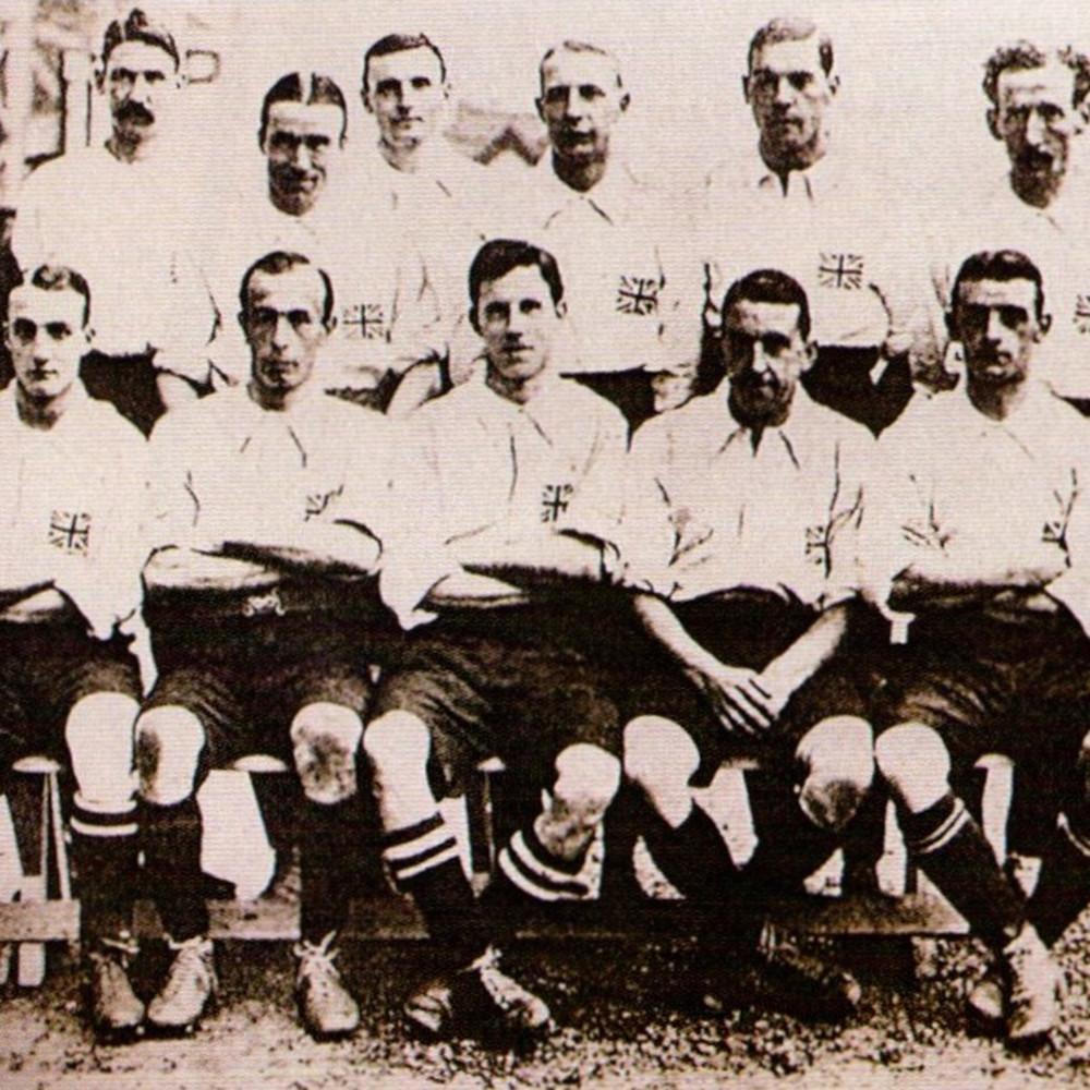 Gran Bretagna 1908 Maglia Storica Calcio