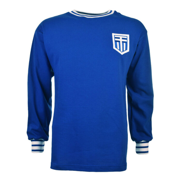 Greece 1971 Retro Football Shirt