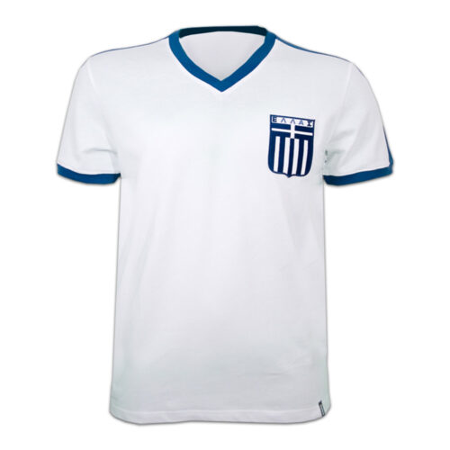 Greece 1979 Retro Football Shirt