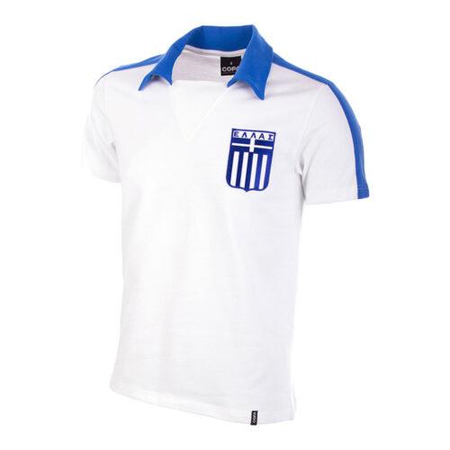 Greece 1980 Retro Football Shirt