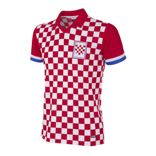 Croacia 1990 Camiseta Retro Fútbol
