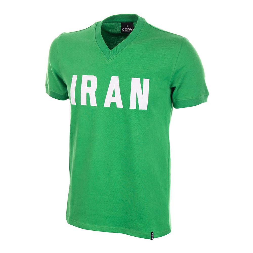Iran 1976 Retro Football Shirt