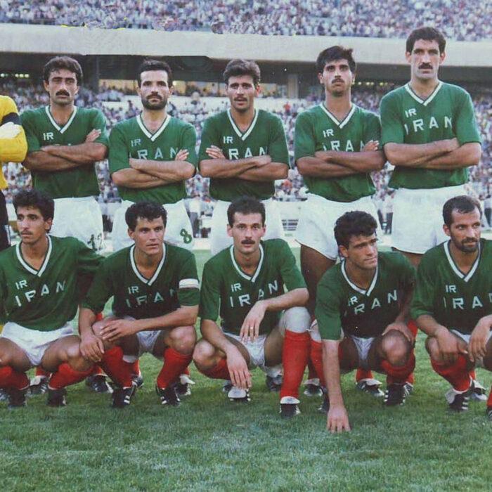Iran 1989 Maglia Storica Calcio