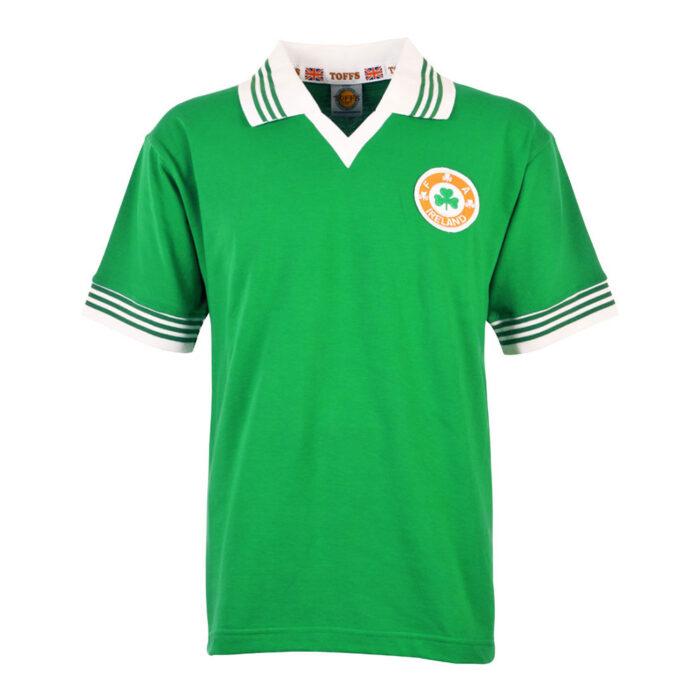 Irlanda 1977 Camiseta Retro Fútbol