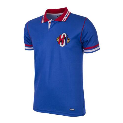 Iceland 1996 Retro Football Shirt