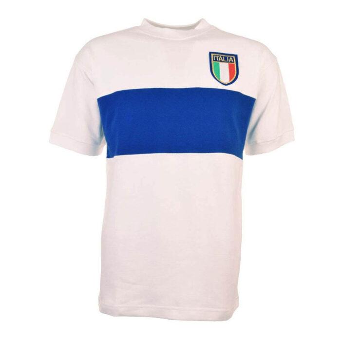Italy 1974 Retro Football Shirt