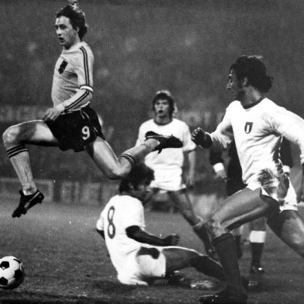 Italia 1976 Away Maglia Storica Calcio